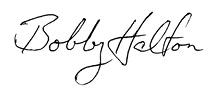 Bobby Halton signature