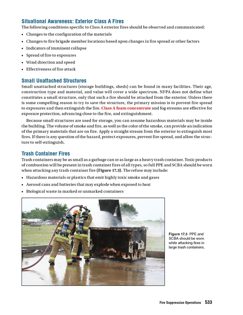 Preview of IFSTA facility fires manual