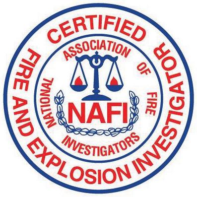CERTIFIED FIRE & EXPLOSION INVESTIGATOR (CFEI) CREDENTIALS