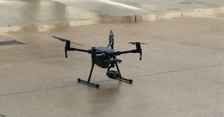 This UAV with a zoom camera is a mainstay for overwater operations including payload delivery.