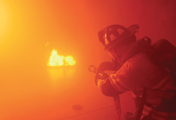 LION's ATTACK™ DIGITAL FIRE TRAINING SYSTEM