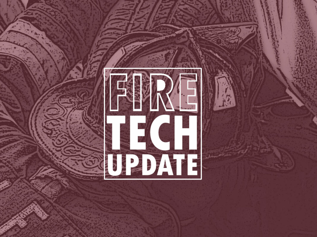 Firefighters and technology