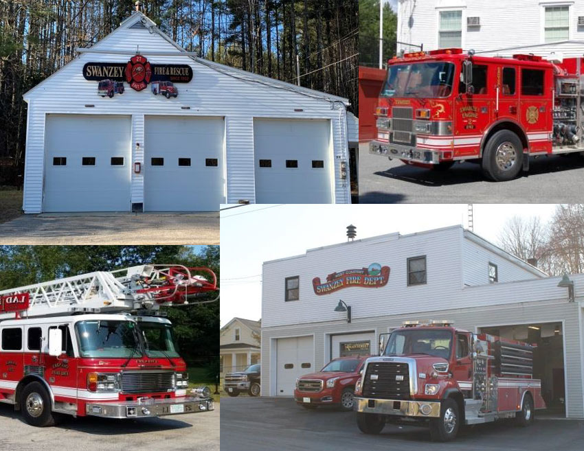 Swanzey NH fire stations and rigs