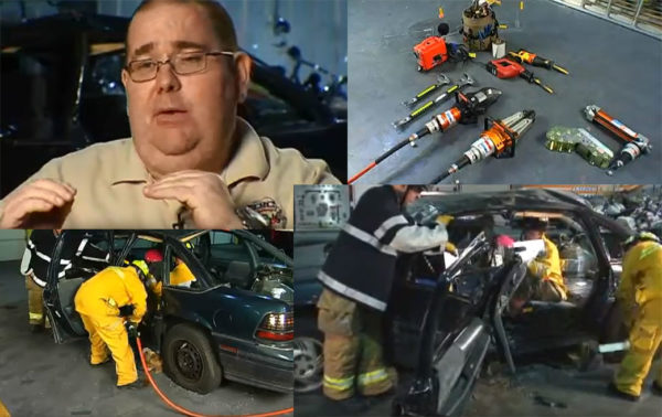 Dave Dalrymple on B post tear for vehicle rescue