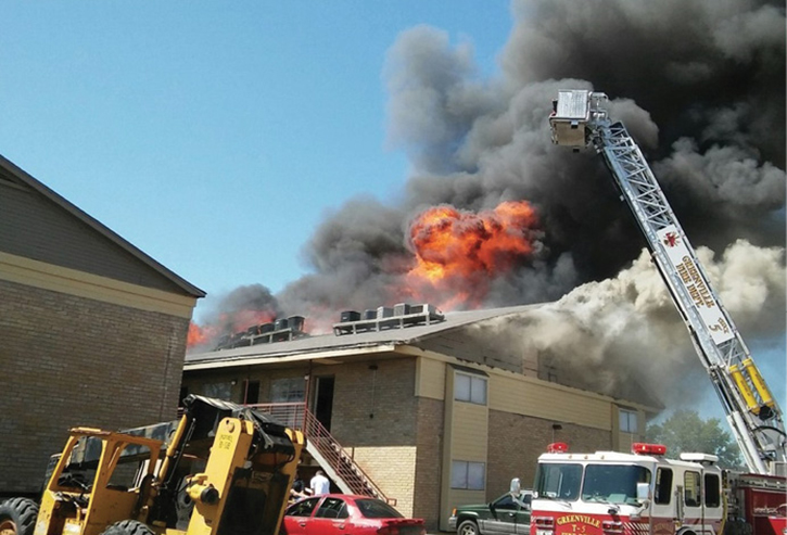 Roof operations for firefighters