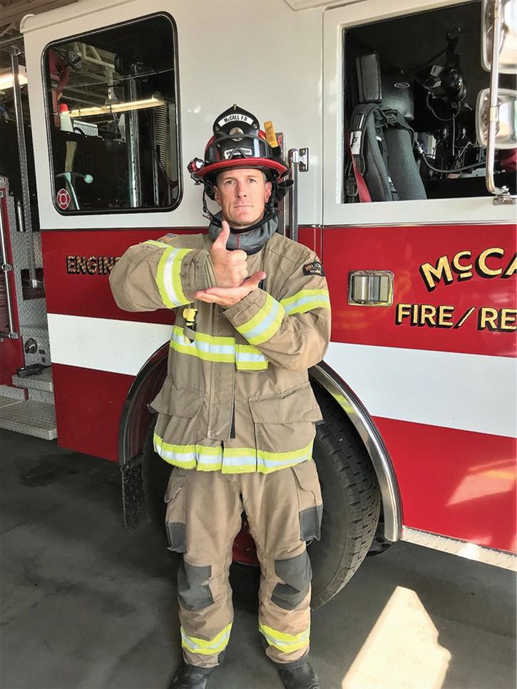 Photo by Firefighter Matt McMahan, McCall (ID) Fire and EMS.