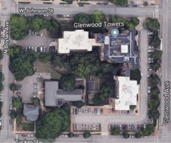 Glenwood Towers Aerial View