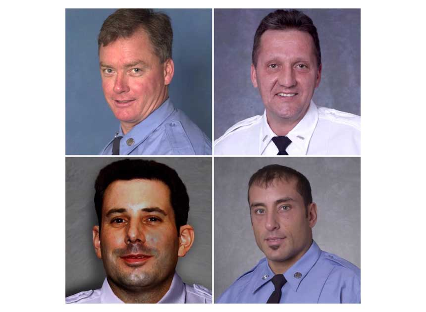 Members of the FDNY lost on