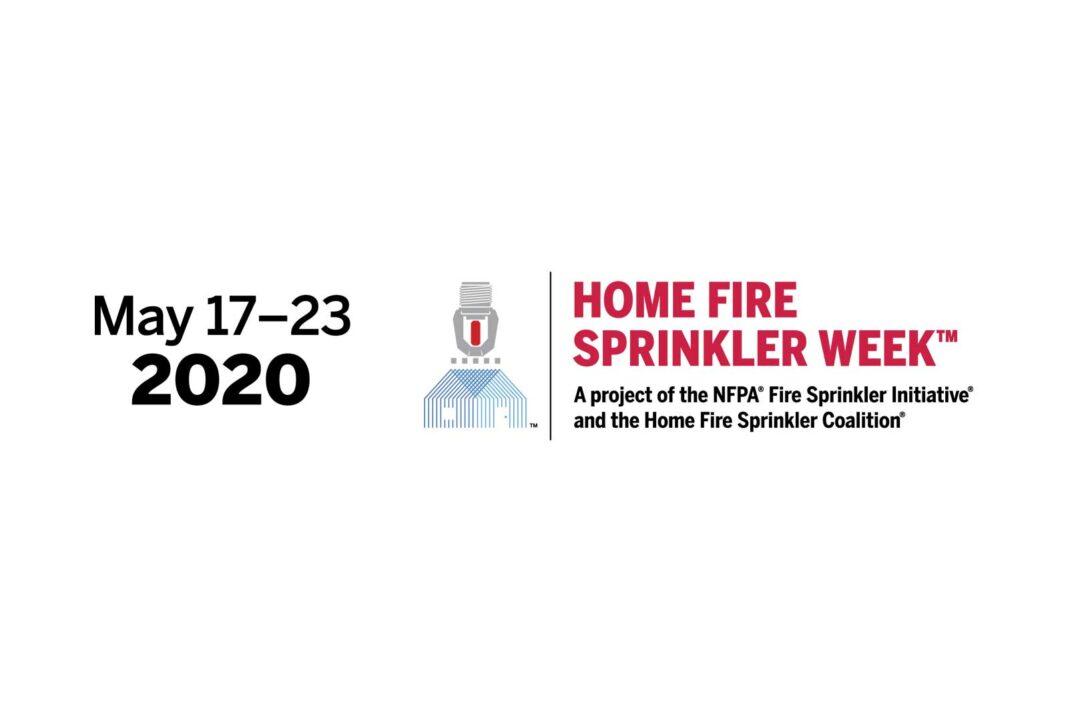 Home Fire Sprinkler Week 2020