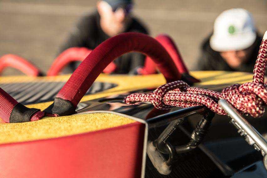 Rescue sled rigging check