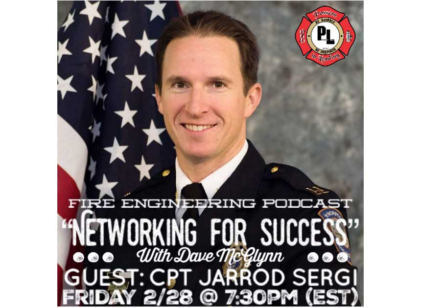 Jarrod Sergi on Networking for Success podcast