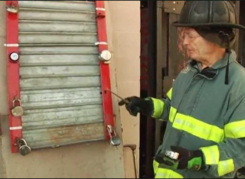 Bob Morris has forcible entry details on padlocks