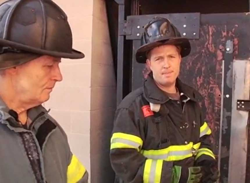 Bob and Rex Morris on forcible entry