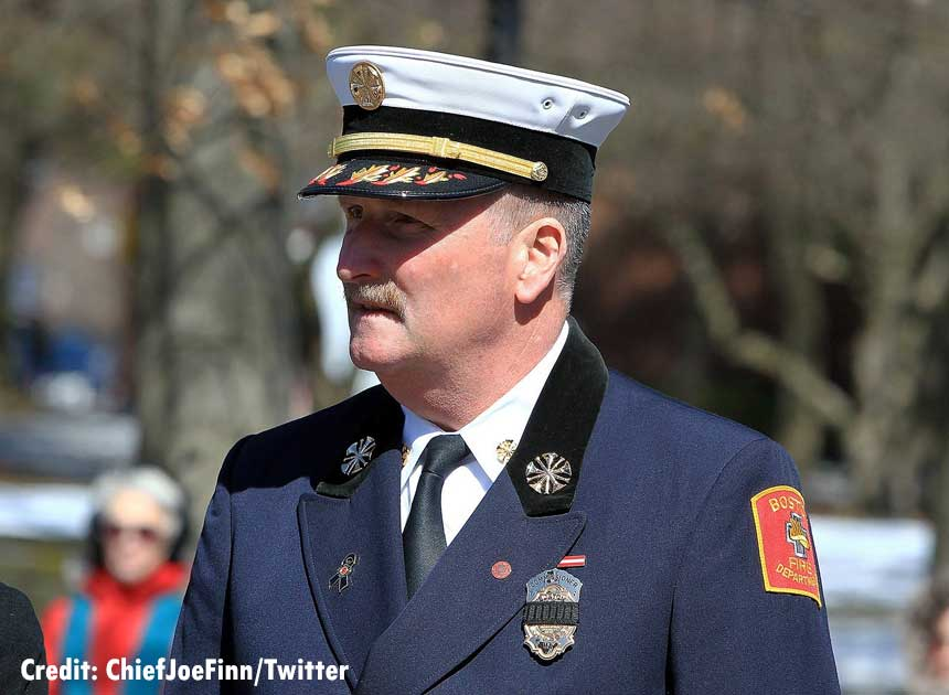Boston Fire Commissioner Joe Finn