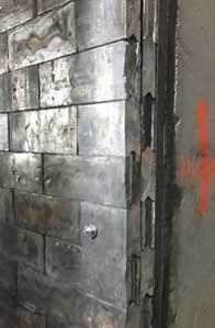 LLA vault wall