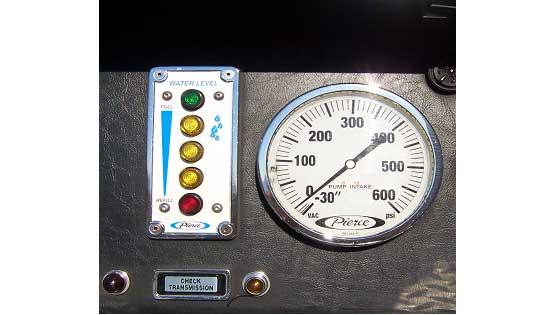 Intake pressure gauge