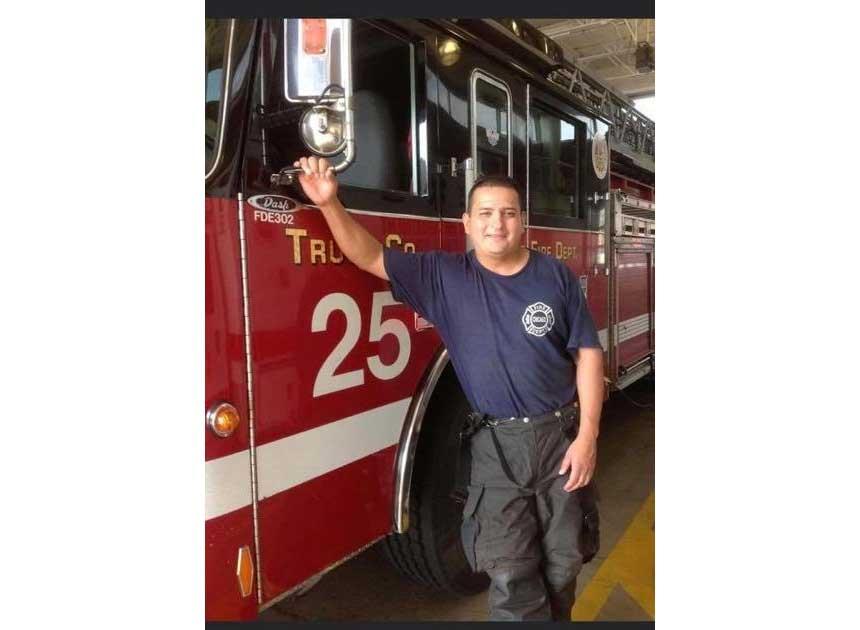 Chicago Firefighter Araujo