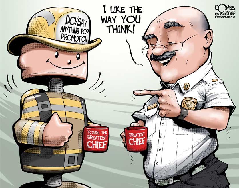 Firefighter bobble-head