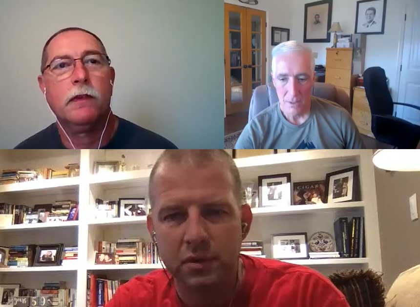 David Rhodes, Bobby Halton, and Brent Hullender