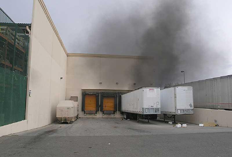Smoke condition at big box store