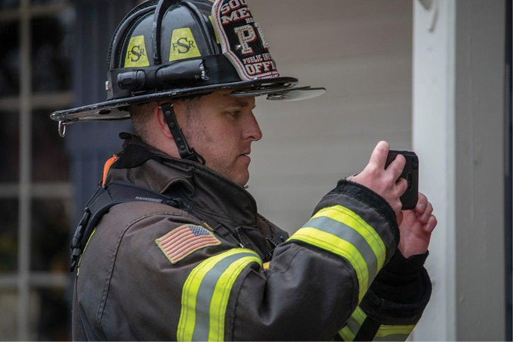 I capture 4K video with my iPhone at a major incident. Breaking news video is uploaded to Twitter from the scene and later used in the vlog. In most cases, a department-issued smartphone captures sufficient video quality for YouTube and TV news.