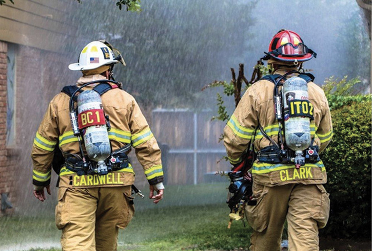 Using later-arriving chiefs as divisions (especially on the interior) is a great way to cut down on radio traffic. A chief who is assigned as an interior division will use face-to-face communications with interior crews. He can then relay critical information, including CAN reports (conditions, actions, needs) to Command.