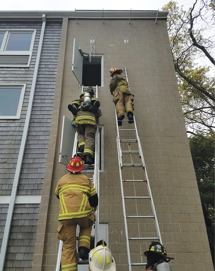 Ladder rescue carries are an important skill, but they are also risky for firefighters who have had minimal training on the techniques and skills.
