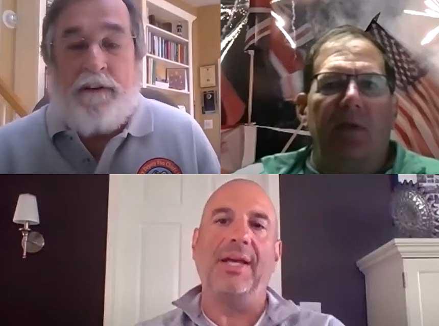 Jack Murphy, Sean DeCrane, and Joe Pronesti