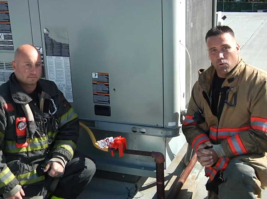 Anthony Deko and Adam Hansen on HVAC rootop units