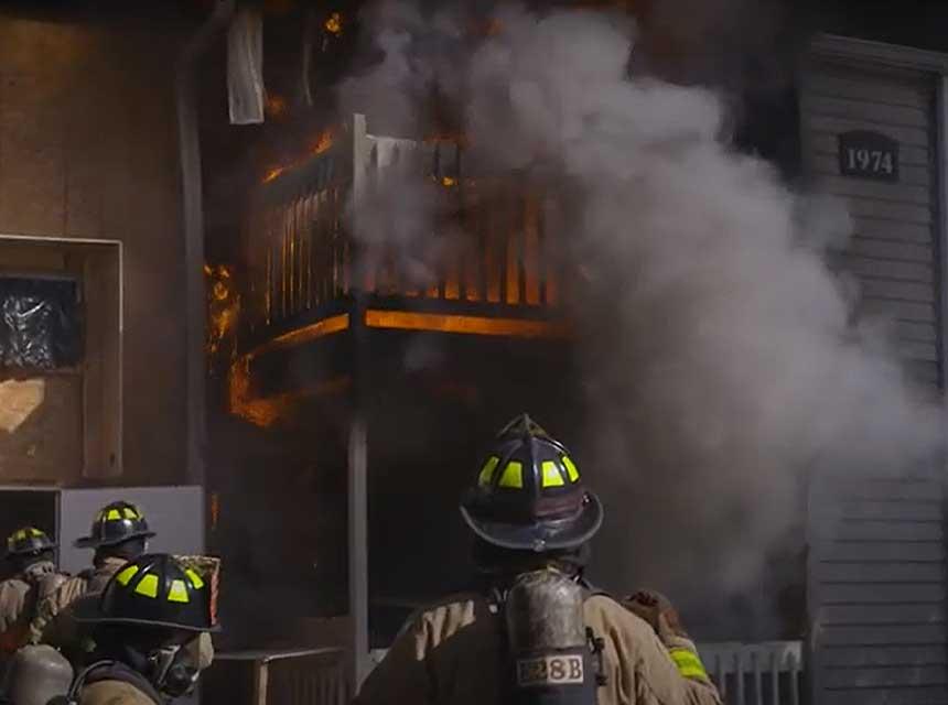 UL FSRI multi-family fire
