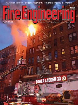 Fire Engineering July 2020 cover