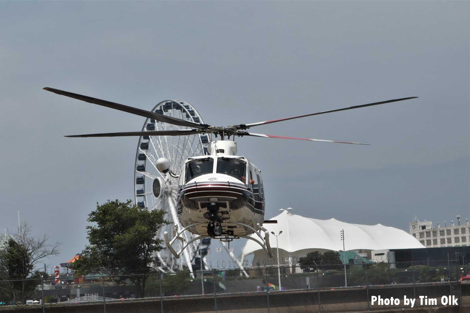 Chicago Fire Department copter