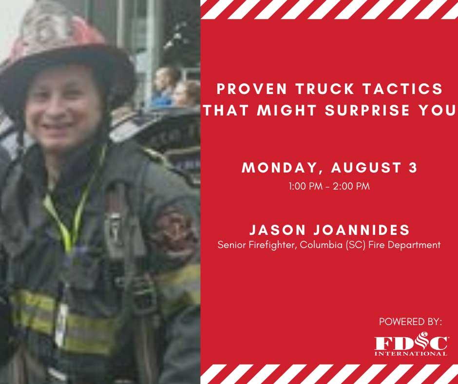 Webcast promo for Jason Joannides