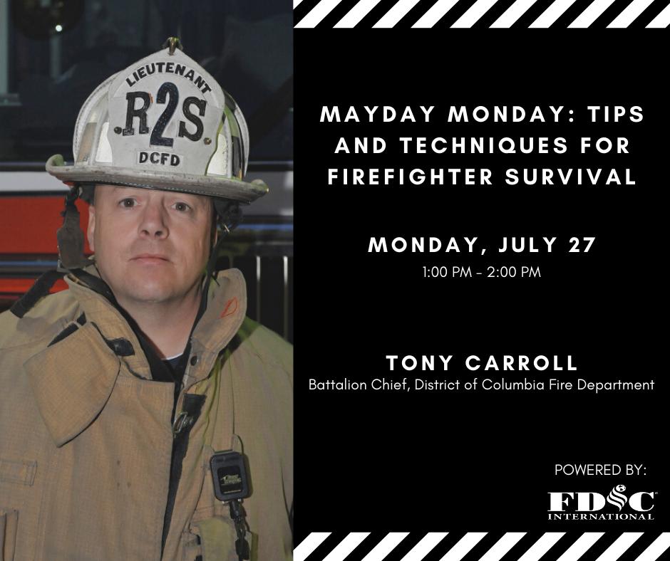 Tony Carroll with Mayday Monday