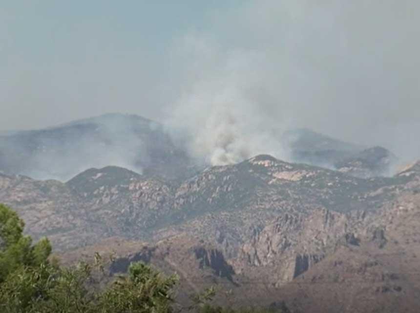 Southern Arizona Wildfire