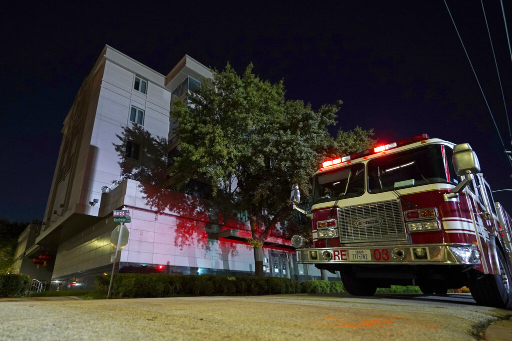 Fire at Chinese consulate in Houston