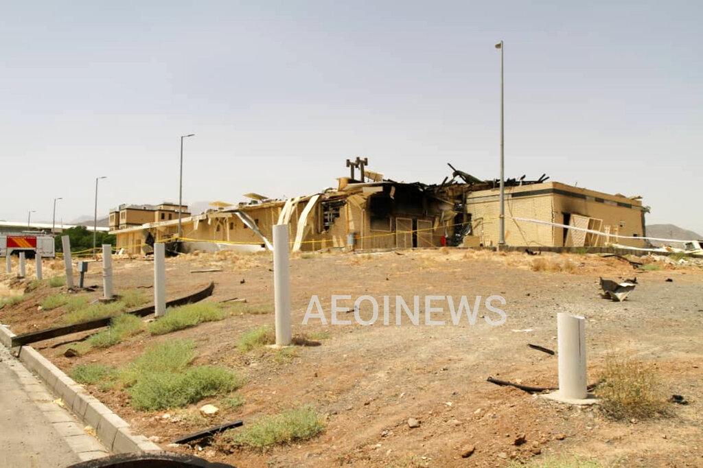 Fire at Iran nuke site