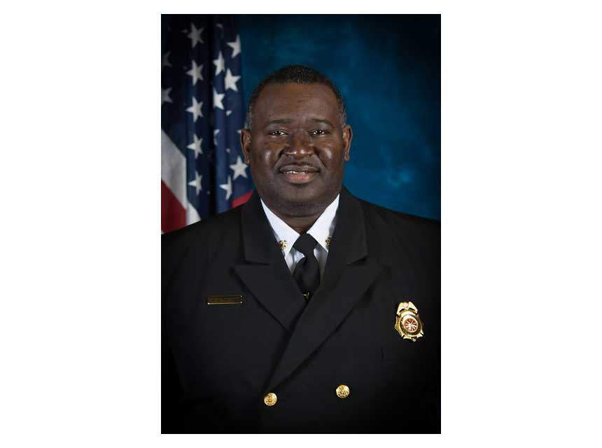 East Point Fire Chief Corey Deon Thornton