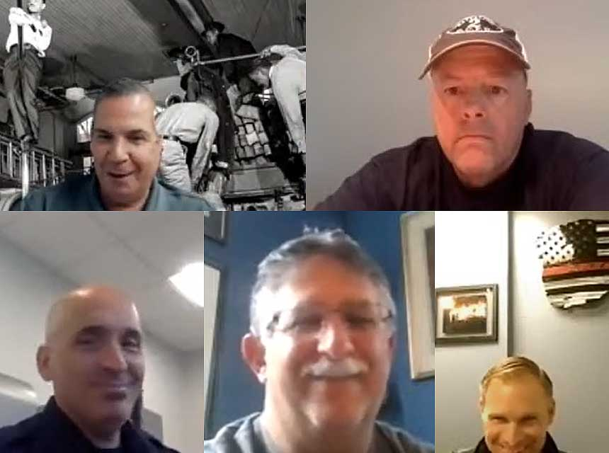 Ricky Riley, Tony Carroll, Dan Shaw, Aaron Heller, and Stephen Shaw