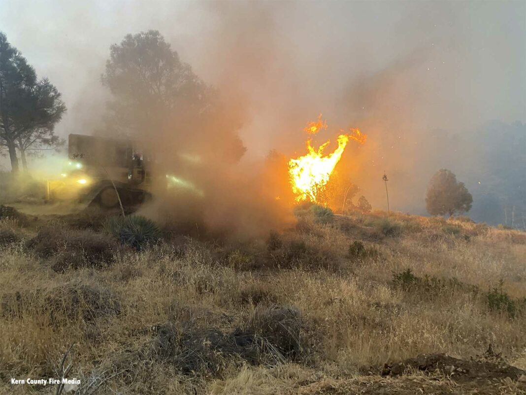Stagecoach Fire in California