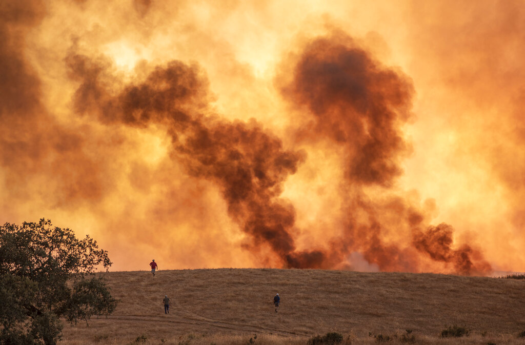 Fires in Andalusia