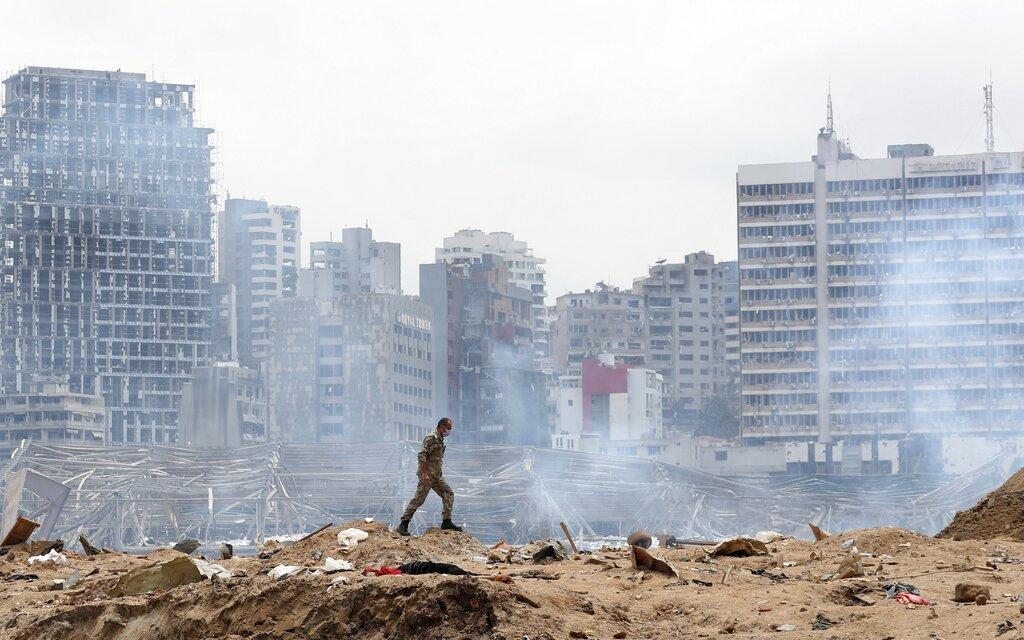 Beirut devastation