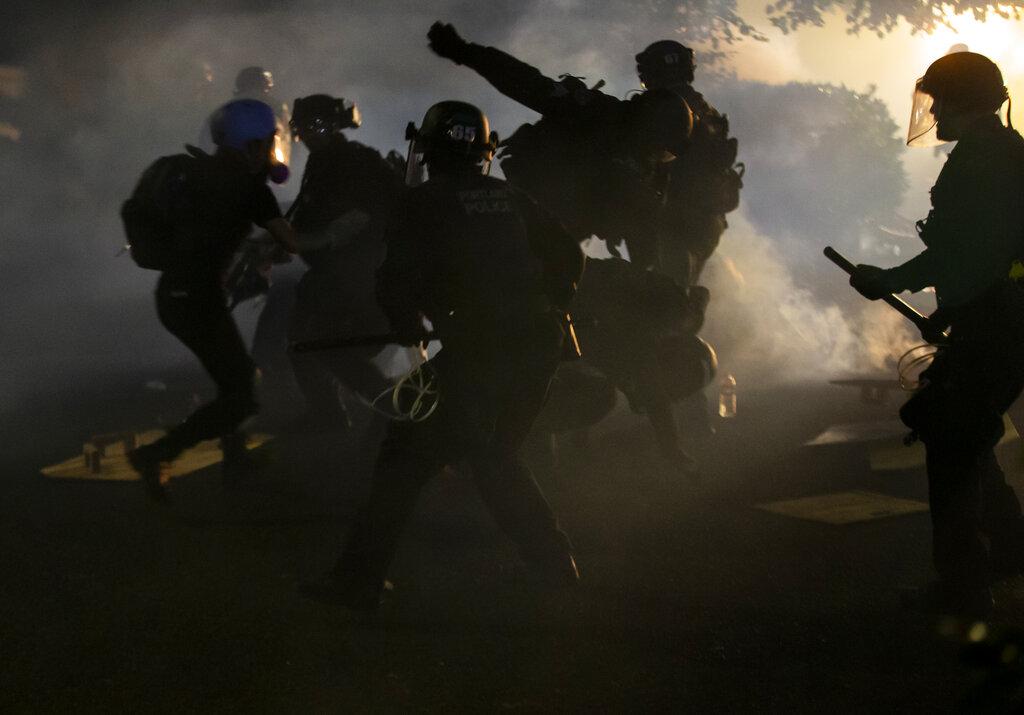 Conflict in Portland, Oregon