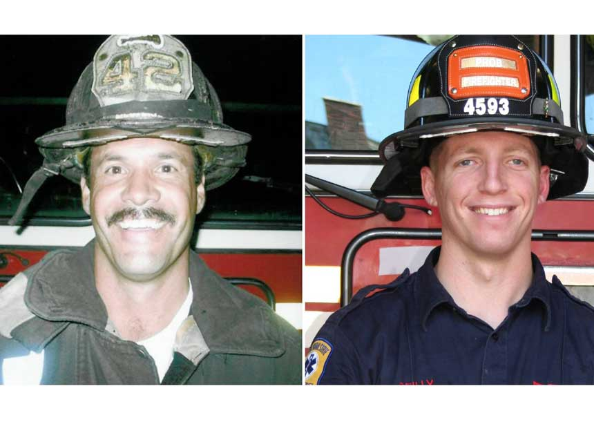 FDNY Lieutenant Howard J. Carpluk and Firefighter Michael C. Reilly