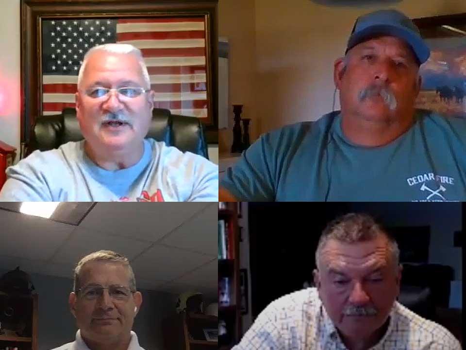 Rick Lasky, Gary Apple, John Salka, and Eddie Buchanan