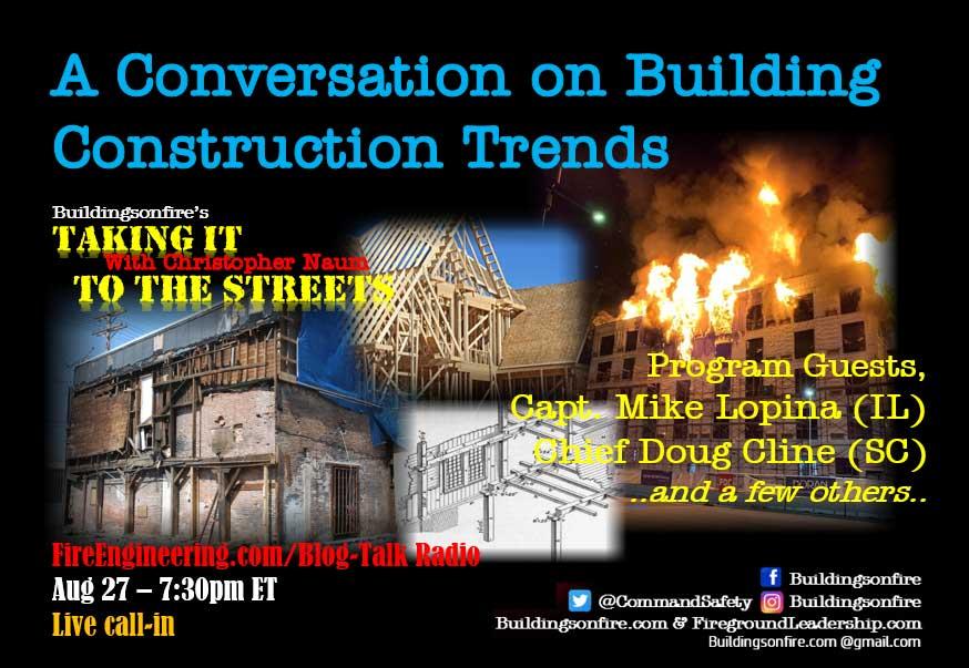 Buildingsonfire on building construction