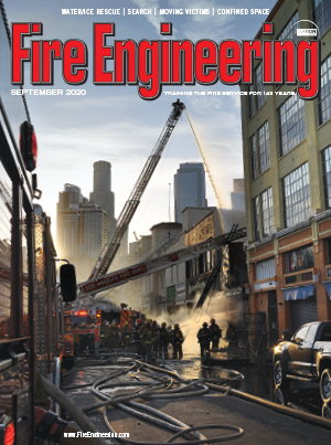 September 2020 Fire Engineering cover