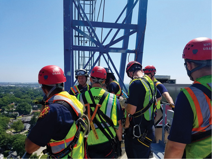 Technical rescue team preplan