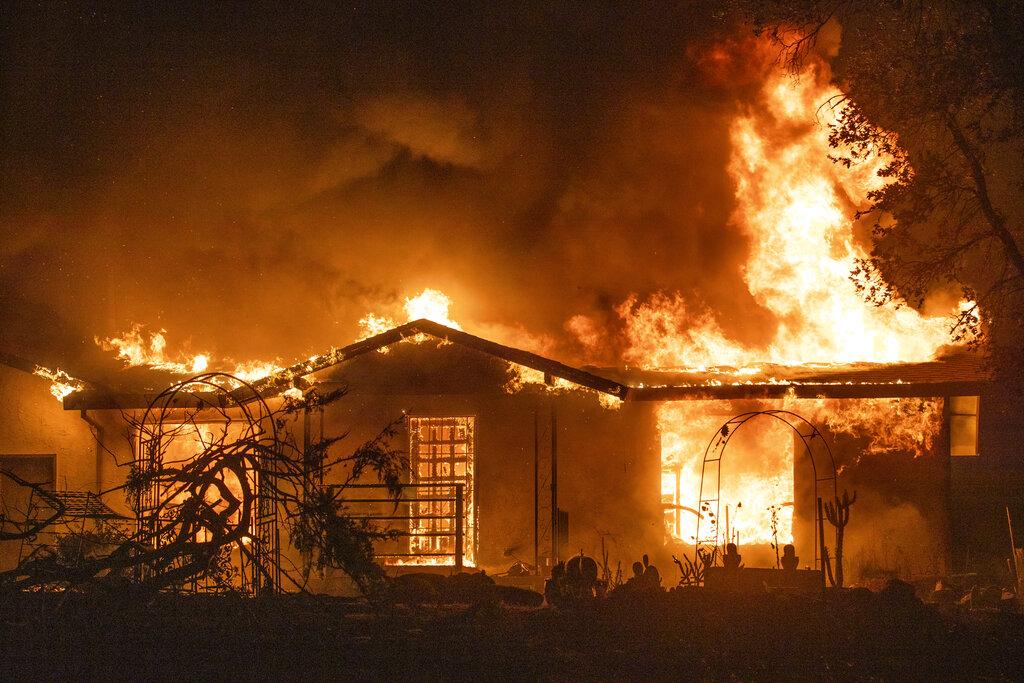 Zogg Fire in California