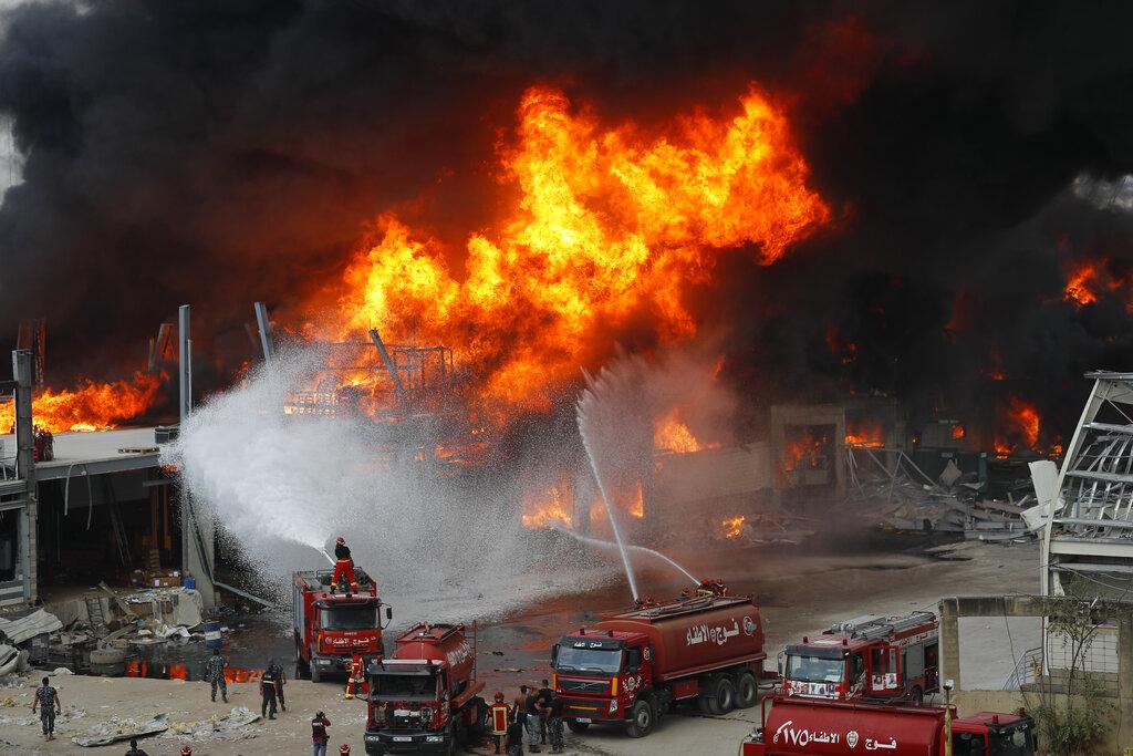 Beirut fire